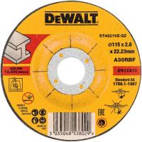 Круг отрезной DeWALT INDUSTRIAL DT42210Z, по металлу, 115 x 22.2 x 2.8 мм, тип 1