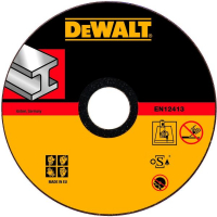 Круг отрезной DeWALT INDUSTRIAL DT42380Z, по металлу, 180 x 22.2 x 1.6 мм, тип 1