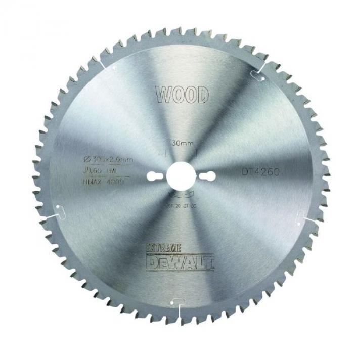 Пильный диск DeWALT EXTREME WORKSHOP DT4260, 305/30 мм.