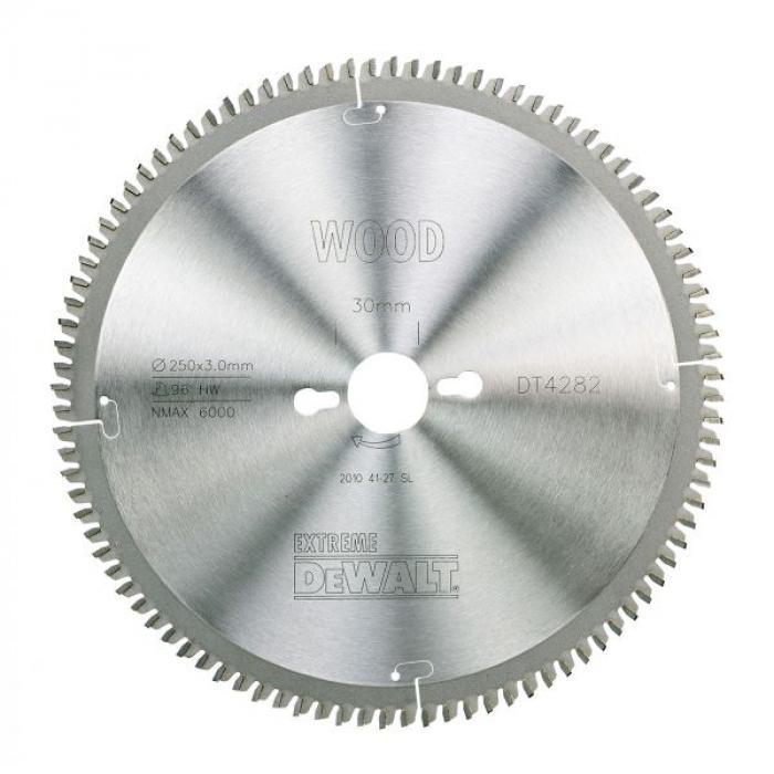 Пильный диск DeWALT EXTREME WORKSHOP DT4282, 250/30 мм.