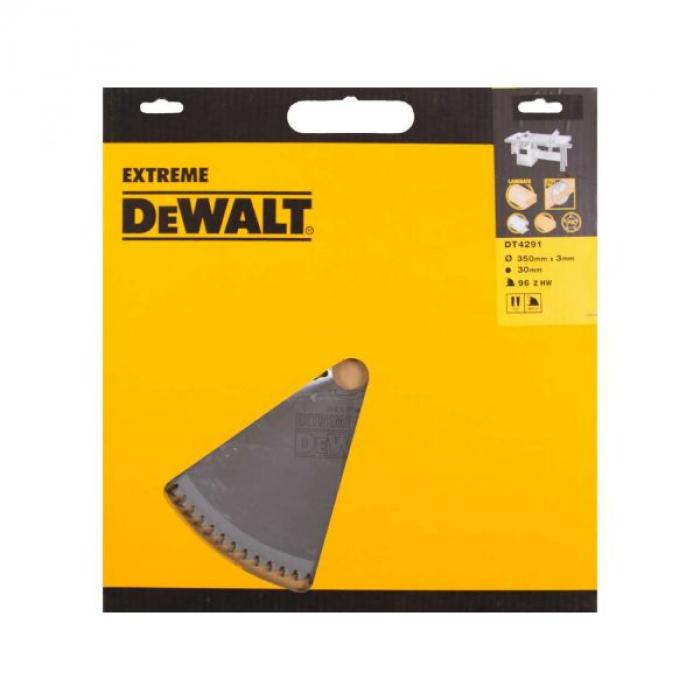 Пильный диск DeWALT EXTREME WORKSHOP DT4291, 350/30 мм.