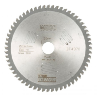 Пильный диск DeWALT EXTREME WORKSHOP DT4370, 216/30 мм.