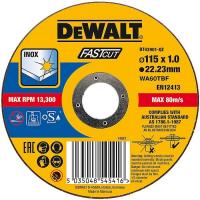 Круг отрезной DeWALT DT43901, быстр рез, 115 x 22.2 x 1 мм, тип 41