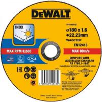 Круг отрезной, высокий ресурс 180x22.2x1.6мм тип 41 DeWALT DT43908-QZ