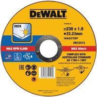 Круг отрезной по металлу DeWALT DT43909, 230 x 22.2 x 1.9 мм