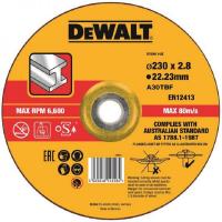 Круг отрезной DeWALT DT43913, по металлу 230 x 22.2 x 2 8 мм, тип 42