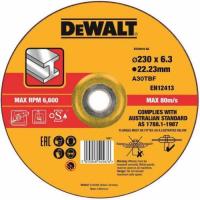 Круг обдирочный DeWALT DT43919, по металлу, 230 x 22.2 x 6 мм, тип 27