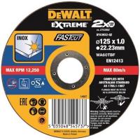 Круг отрезной EXTREME Fast Cut DeWALT DT43932, 125x22.2x1 мм
