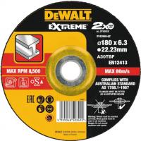 Круг зачистной по металлу EXTREME 180x22.2x6.3 мм DeWALT DT43948-QZ