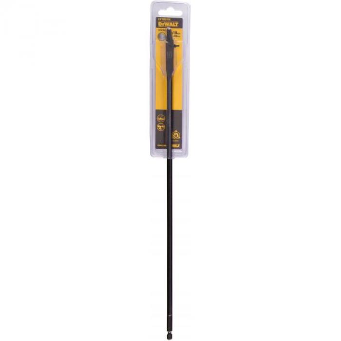 Сверло DeWALT EXTREME DT4780, по дереву перьевое IMPACT 1/4 дюйма 10 x 406 мм