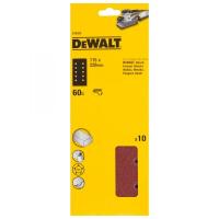 Шлифлисты перфорированные DeWALT DT8550, 115 x 228 мм, 60G, 10 шт.