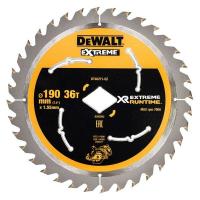 Пильный диск DeWALT XR EXTREME RUNTIME DT40271, 190x30мм, 36T