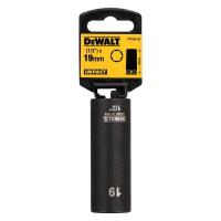 Ударная накидная головка DeWALT DT7553-QZ, длинная 19 MM 1/2