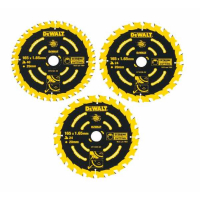 Набор пильных дисков DeWALT EXTREME DT10397, 165/20 мм., 3 шт.