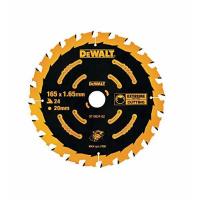 Пильный диск DeWALT EXTREME DT10624, 165/20 мм.