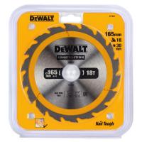 Пильный диск DeWALT CONSTRUCTION DT1936, 165/30 мм.