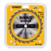 Пильный диск DeWALT CONSTRUCTION DT1939, 184/16 мм.