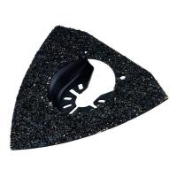 Насадка для мультитул DeWALT DT20719, шлифовальная поверхность грубая карбидная крошка по твердому клею для плитки
