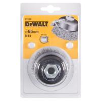 Чашечная щетка витая проволока 65 x 19 мм x M14 DeWALT DT3480-QZ