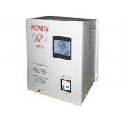 Однофазный цифровой настенный стабилизатор напряжения Ресанта ACH-8000Н/1-Ц