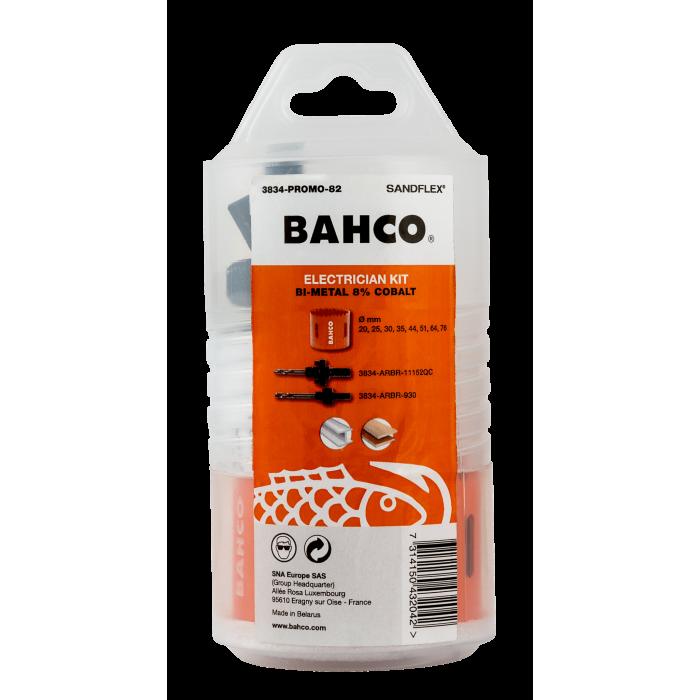 Набор кольцевых пил, 10 шт Bahco 3834-PROMO-82