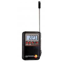 Мини-термометр с проникающим зондом и сигналом тревоги Testo