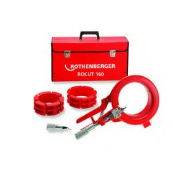 """Инструмент для резки и снятия фаски Rothenberger """"ROCUT 160 Set"""" на 160 мм (с вкладышами на  125 мм и  110 мм)"""