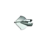 Крестообразный зубчатый бурав для спирали Rothenberger 22мм, Dгол.=65мм