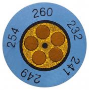 Круглые термоиндикаторы Testo Testoterm измерительный диапазон +143 … +166 °C