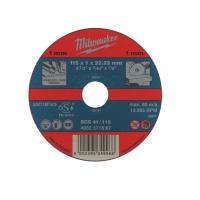 Отрезной диск по металлу Milwaukee SCT 41 / 115 х 1 мм (1шт)