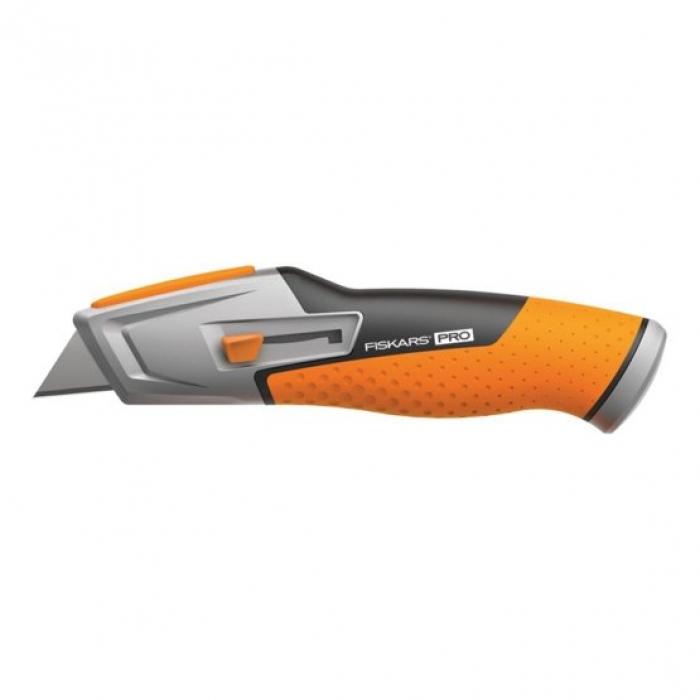 Нож с выдвижным лезвием Fiskars CarbonMax