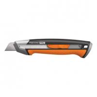Нож строительный Fiskars 18 мм CarbonMax