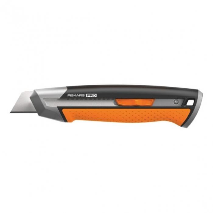 Нож строительный Fiskars 25 мм CarbonMax