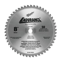 Диск для циркулярных пил по металлу Milwaukee F 203 x 15.87 x 50 z(1шт)
