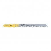 Полотно для быстрой резки Milwaukee JigBl T144D 75 мм/ шаг зуба 4 мм (5шт)