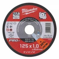 Отрезной диск по металлу PRO+ Milwaukee SCS  41 / 125 x 1.5 x 22.2 мм (200шт)