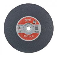 Отрезной диск по металлу Milwaukee SCS 41/350х4,0 PRO+ 1шт (заказ кратно 10шт)
