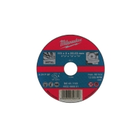 Отрезной диск по металлу Milwaukee SC 41 / 115 x 3 x 22 мм (25шт)