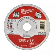 Отрезной диск по металлу Milwaukee SCS 41 / 125 x 1.5 x 22 мм (1шт)