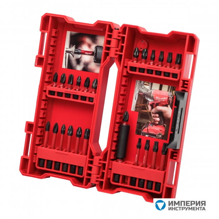 Набор бит Milwaukee Shockwave Imapct Duty Bit Set (24шт) 4932464169