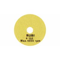 Алмазный гибкий диск для влажной полировки RUBI Ø100 мм, зернистость #100