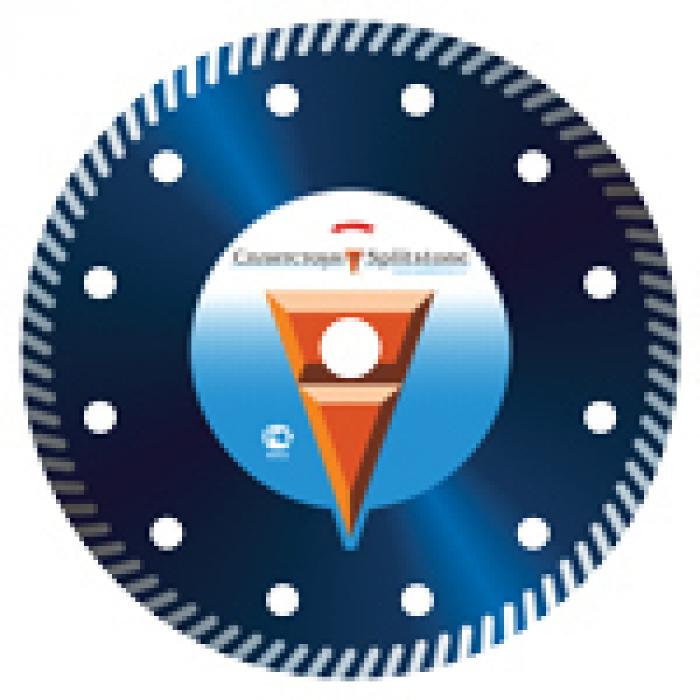 Отрезной алмазный круг Сплитстоун 4836 (Turbo 150x2,2x10x22,2 бетон 12) сухая Professional