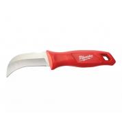 Нож строительный с загнутым носом Milwaukee (для кабеля)