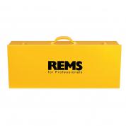 Стальной чемодан для резьбонарезного клуппа REMS Ева