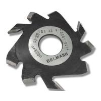 Фреза пазовая с подрезающими зубьями БЕЛМАШ 125х32х5 мм