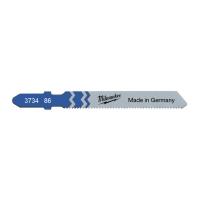 Полотно стандартное Milwaukee JigBl T118A 55 мм/ шаг зуба 1.2 мм (25шт)