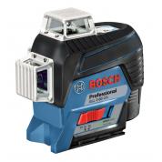 Лазерный уровень Bosch GLL 3-80 CG + BM 1 (12 V) + L-Boxx