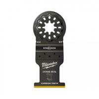 Полотно биметаллическое для мультитул по мультиматериаламMilwaukee StarLock 35х32 мм с 3 режущими кромками (1шт)