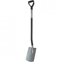 Лопата с закругленным лезвием Fiskars Ergonomic™