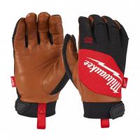 Перчатки с кожаными вставками Milwaukee M/8